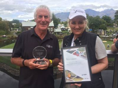 Holden NZ Golf Club of the Year award